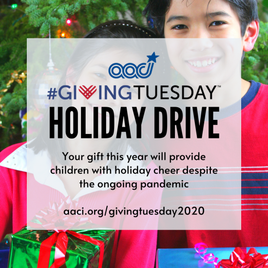 AACI Joins In Global Giving #GivingTuesday2020